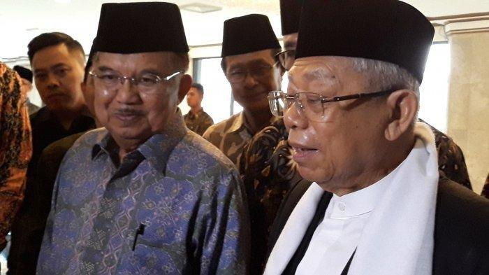 Soal Komposisi Kabinet, Maruf Amin : Calon-calon Lagi Dikumpulkan, yang Penting Terwakili