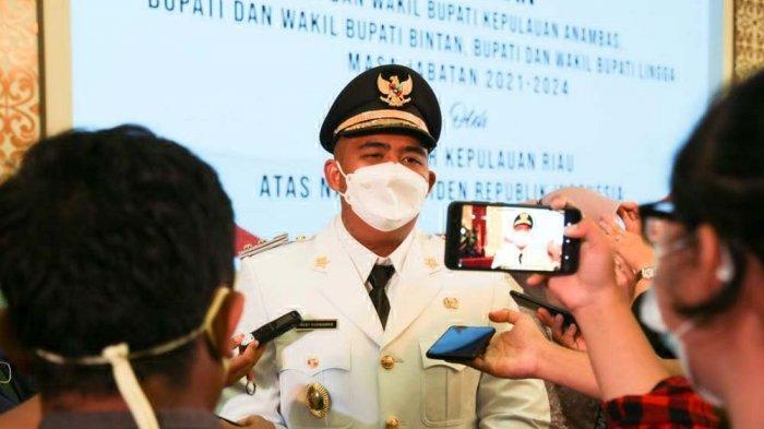 Wakil Bupati Bintan, Roby Kurniawan