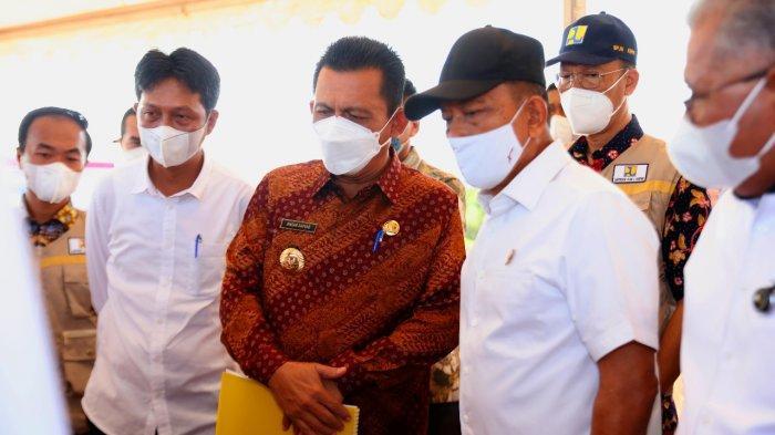 Kepala Staf Presiden Moeldoko Tinjau Landing Point Jembatan Batam Bintan