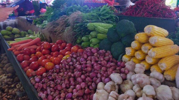 Harga Sayuran di Pasar Puan Maimun Karimun Masih Tinggi, Berikut Daftar Harganya