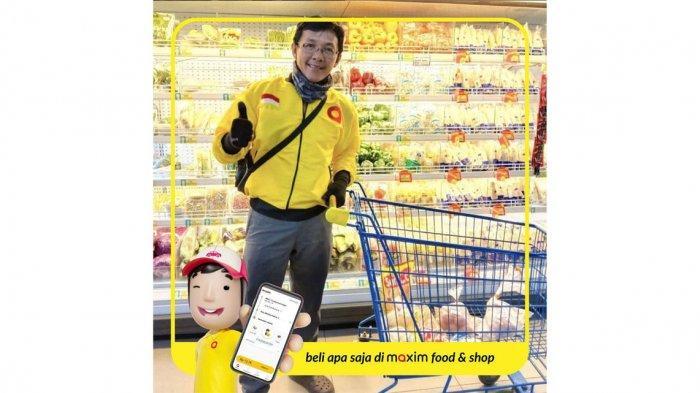Cara Pesan Makanan di Maxim Pakai Fitur Food & Shop, Bisa Belanja di Beberapa Tempat Dalam 1 Pesanan