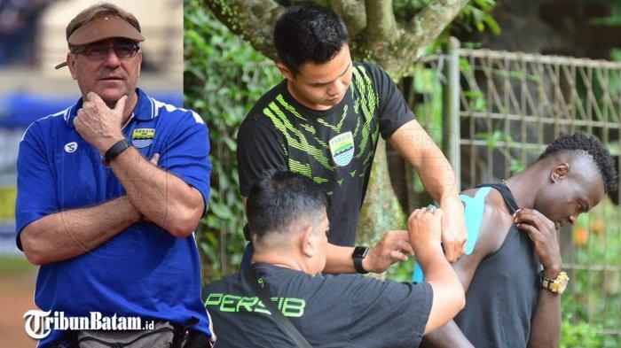 Jelang Laga Kontra Bhayangkara FC, Beberapa Pemain Persib Bandung Cedera, Siapa Saja Mereka?