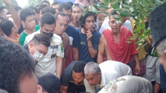Pembunuhan Ketua MUI Labura Aminurrasyid Aruan, Anto Dogol Telungkup Diborgol Polisi