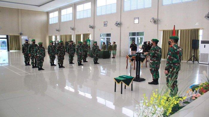 Dua Pejabat di Korem 033/WP Berganti, Ini Pesan Brigjen TNI Jimmy Ramoz Manalu