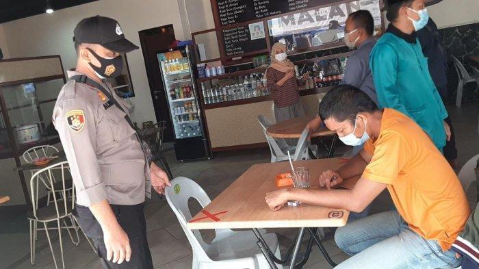 Polsek Lubuk Baja Batam Gelar Razia Masker di Jalanan