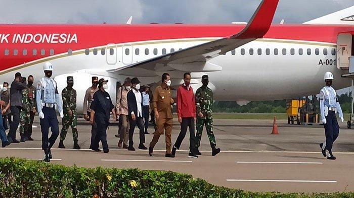 Presiden RI Joko Widodo Tiba di Batam, Ini Agenda Kerjanya di Setokok Barelang