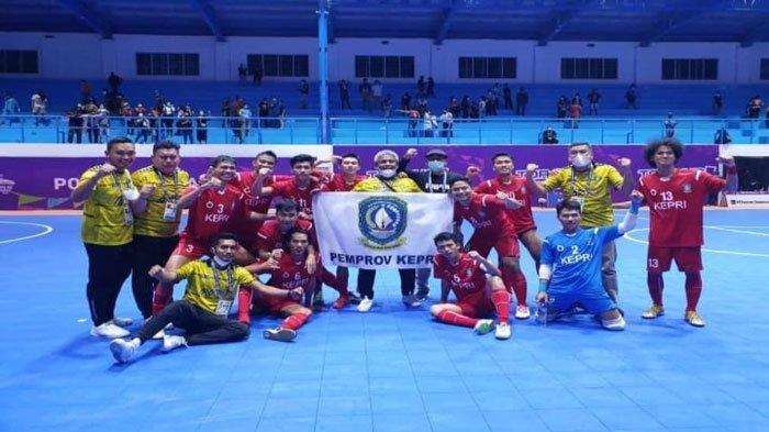 Tim Futsal Kepri Kalahkan Sumut di PON Papua, Namun Belum Lolos ke Babak Selanjutnya