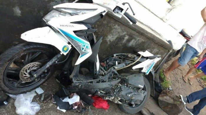 Kecelakaan Maut Honda Beat vs Daihatsu Grand Max, Brigadir Pardi Tewas