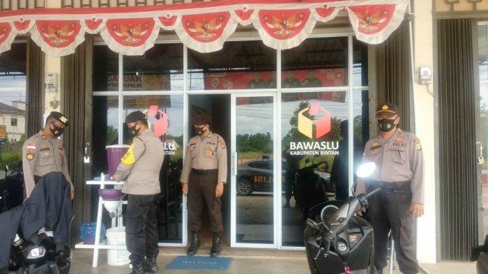 Jaga Kamtibmas di Masa Kampanye Pilkada, Sabhara Polres Bintan Gelar Patroli Dialogis