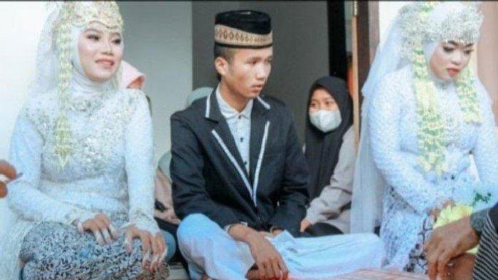 Pemuda 20 Tahun Nikahi 2 Gadis Sekaligus, Istri Pertama Ungkap Fakta Tak Terduga