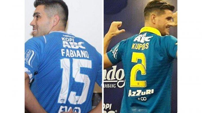 DAFTAR Pemilik Nomor Punggung Pemain Persib Bandung saat Liga 1 2020, Nomor Terkecil Bukan 1
