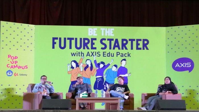 Gelar Pop Up Campus, AXIS Ajak Mahasiswa Bersiap Masuki Dunia Kerja