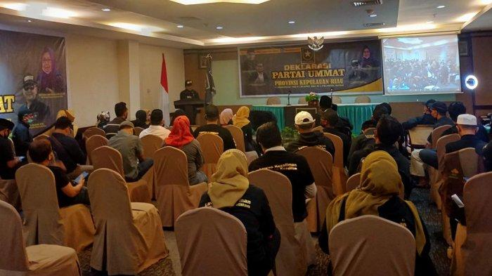 TAK Harus Muslim, Partai Ummat Batam Buka Kesempatan Calon Kader Bergabung