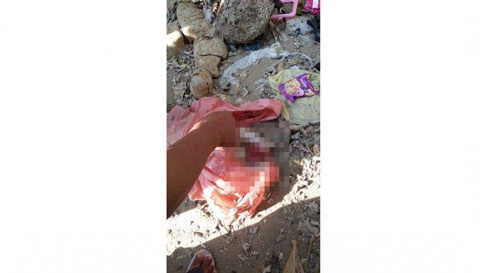 Penemuan jasad bayi di pinggir pantai Tanjung Sengkuang Dalam, Batam, Kamis (29/4/2021)