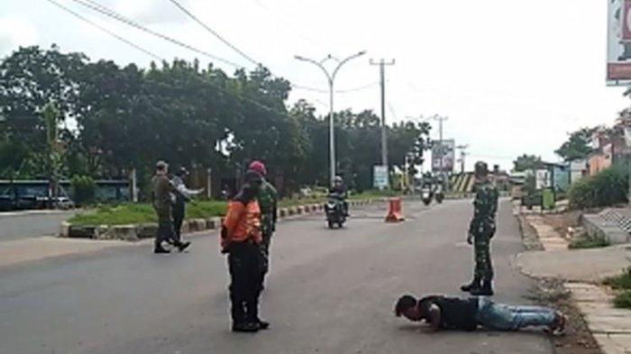 Satpol PP Suruh Warga Lafalkan Pancasila dan Push Up Karena Tak Kenakan Masker