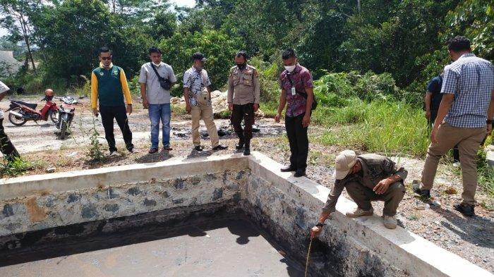 Warga Terganggu Bau Tak Sedap, Aktivitas Pengolahan Aspal di PT Harap Panjang Lingga