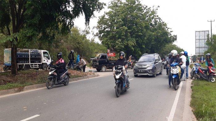 Mio Sporty Senggol Honda Beat di Batuaji, Korban Luka Lecet dan Sakit di Pangkal Paha
