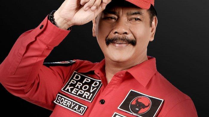 Soerya Respationo Bertarung di Pilgub Kepri, Pasangan atau Lawan Nurdin Basirun? Ini Respon PDIP