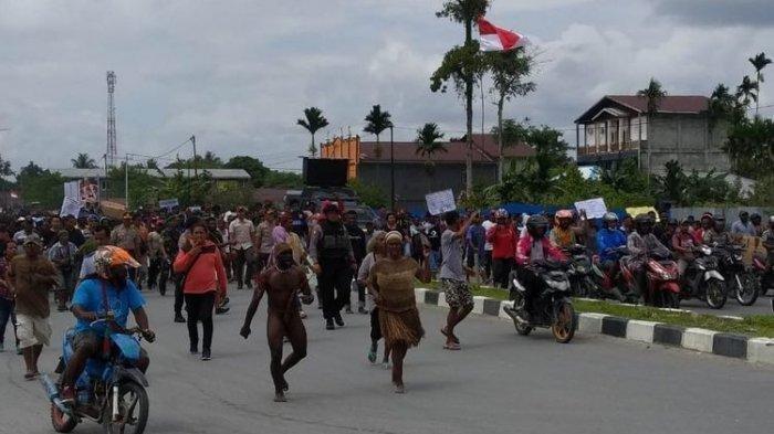 30 Orang Jadi Tersangka Kerusuhan diJayapura,Berikut Dugaan Pelanggaran yang Dilakukan