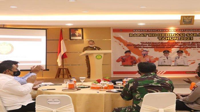 Wabup Natuna Buka Rapat Koordinator SAR, Rodhial Huda Tekankan Soal Sinergi
