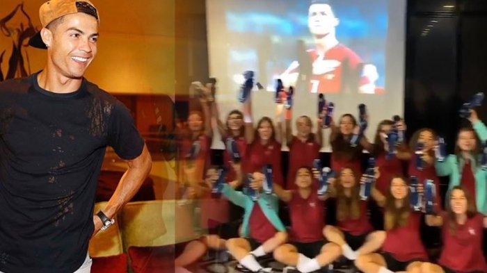 Pemain Timnas Wanita U17 Portugal Dapat Hadiah Sepatu Baru dari Cristiano Ronaldo; Kejar Impianmu