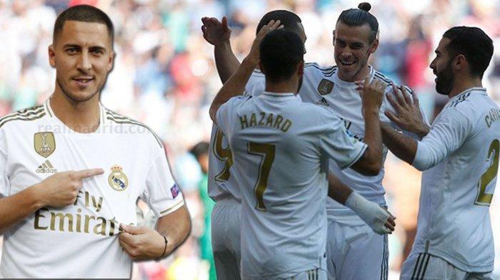 Eden Hazard Akui Berat Jadi Penerus Nomor 7 Cristiano Ronaldo di Real Madrid