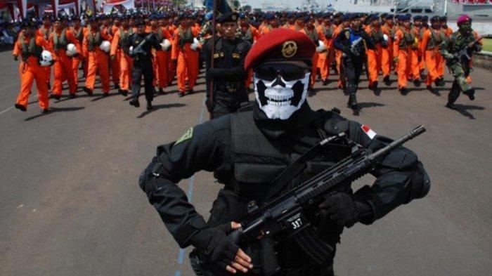 Garong Bersenjata Nekat Aksi di Rumah Pasukan Elite Bertopeng Tengkorak, Yang Terjadi Kemudian