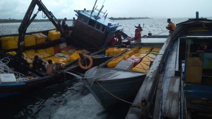 Empat Orang Selamat, Insiden KM Mulia Baru 1 Kandas di Perairan Lobam Bintan, Ini Kronologinya