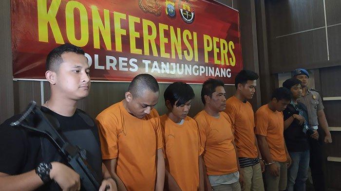 Polres Tanjungpinang Ungkap Kasus Sabu 25 Kg, Sabu Dikendalikan Dari Dalam Lapas Jambi