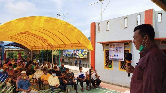 Campaigning in Sagulung Batam, Ansar Ahmad Promises to Control Goods Prices