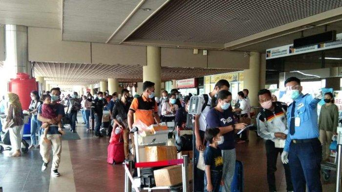 6,045 People Leave Batam in Two Days Via Hang Nadim Airport