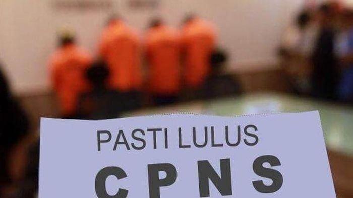 Tersangka penipuan dengan modus CPNS. Foto Ilustrasi