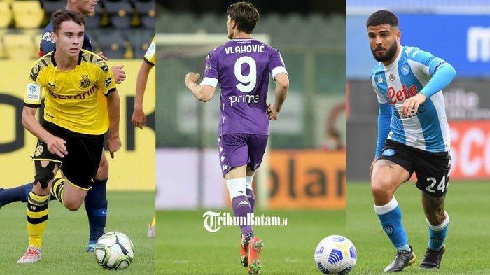 Transfer AC Milan - 3 Pemain Depan Incaran AC Milan Vasco Walz, Dusan Vlahovic, Lorenzo Insigne