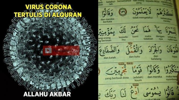 Bukti Kebenaran Virus Corona Sudah Tertulis di Alquran? Doa Terhindar Wabah Sesuai Ajaran Rasulullah