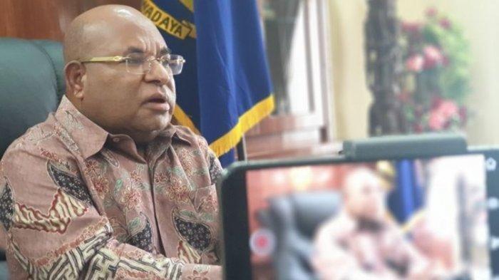 Siapa Lukas Enembe, Getol Soroti Cap Teroris KKB Papua, Dulu Dukung Jokowi di 2019