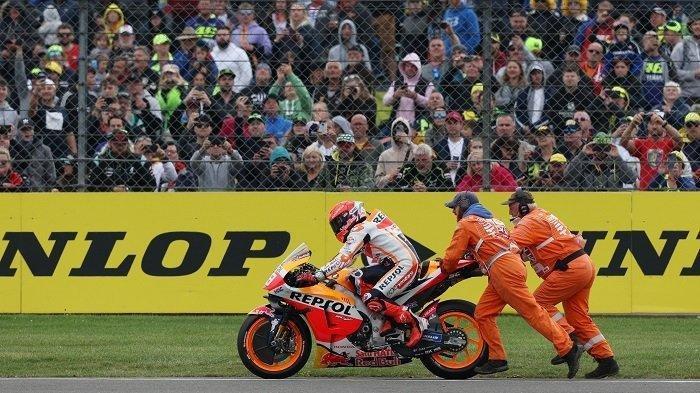 Marc Marquez Akhirnya Minta Maaf Usai Tabrak Jorge Martin di MotoGP Inggris 2021