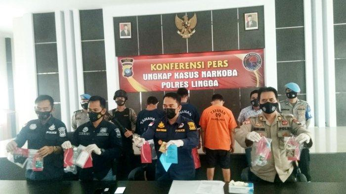 NGAKU Dapat Sabu dari Lapas Tanjungpinang, Pengedar Narkoba Dibekuk di Lingga