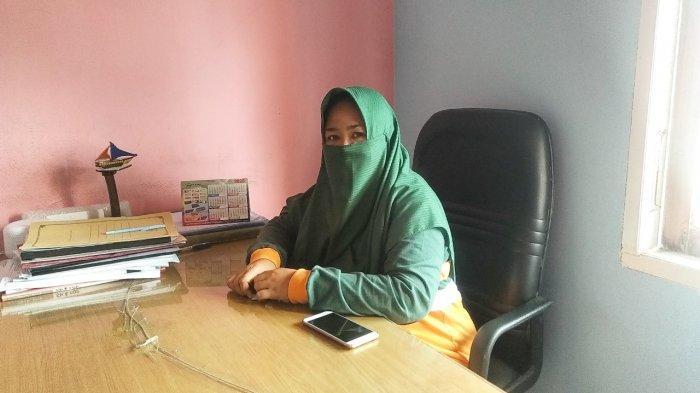 Kepala UPT Puskesmas Raya Lingga, dr Rafika Sahuri Hutapea
