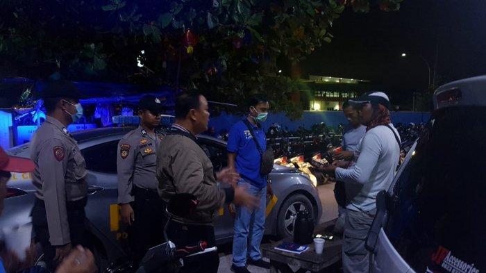 Sasar Keramaian, Polsek KKP Batam Patroli Malam di Pelabuhan, Kapolsek: Masih Ada Warga Nongkrong