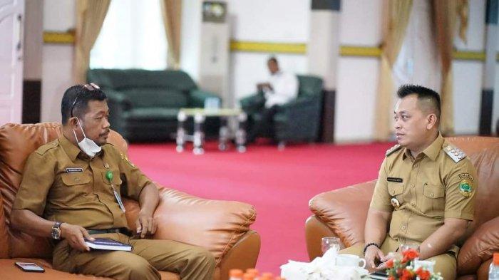 Bupati Lingga Muhammad Nizar Pimpin Rakor, Bahas Wirid Bulanan