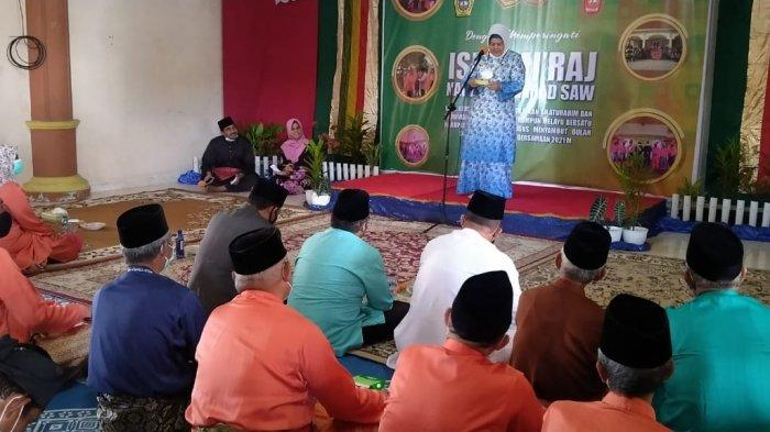 Wakil Gubernur Kepri Marlin Agustina Hadiri Peringatan Isra Miraj di Karimun, Ini Pesannya