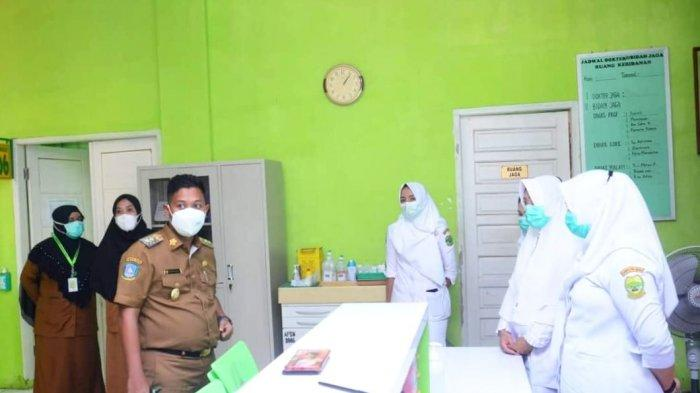 Pantau RSUD, Wakil Bupati Lingga Neko Wesha Minta Pelayanan Kesehatan Ditingkatkan