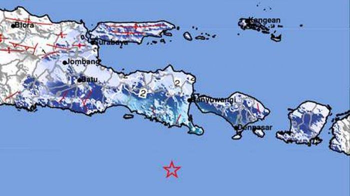 Gempa Hari Ini 2021, Gempa Mag 5.1 Guncang Bali Jumat (30/4) Pagi 05:20 WIB, Berikut Info BMKG