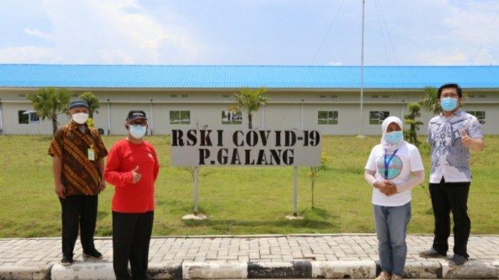Pasien Covid-19 di RSKI Galang Tinggal 247, Berkurang 33 Orang saat H-1 Lebaran