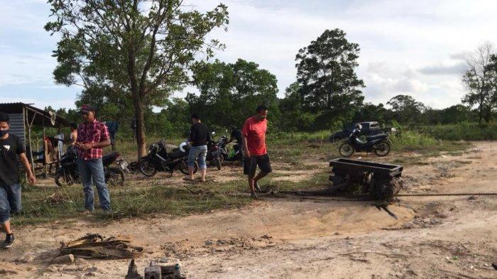 BREAKING NEWS - Polres Bintan Tertibkan Tambang Pasir Ilegal di Desa Gunung Kijang