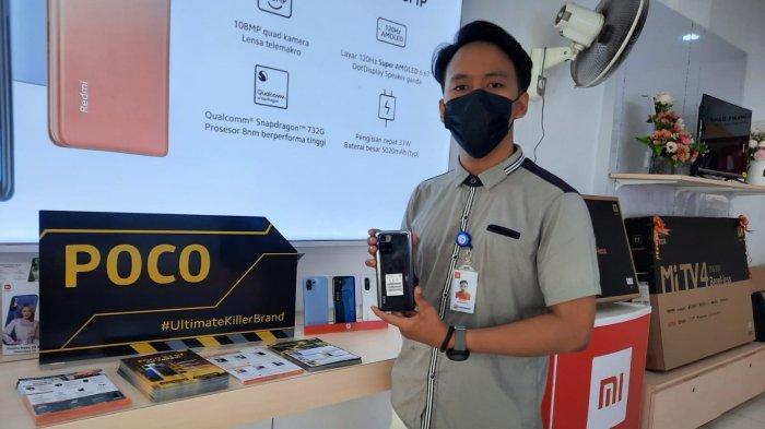 HARGA Handphone Xiaomi POCO X3 GT di MI Shop HBK Ponsel Batam