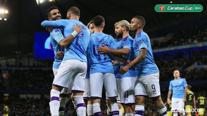 Hasil Liga Champions 2019 - Hattrick Gabriel Jesus Bawa Man City Menang, Atalanta Lolos Dramatis