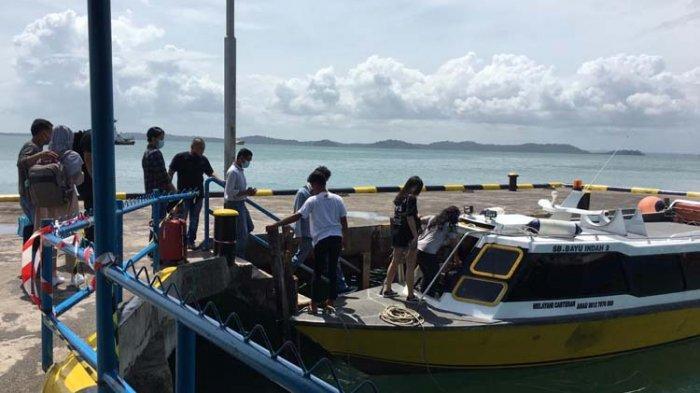 Pelayanan Pelabuhan Bulang Linggi Sementara Dipindah ke Kota Segara Tanjunguban