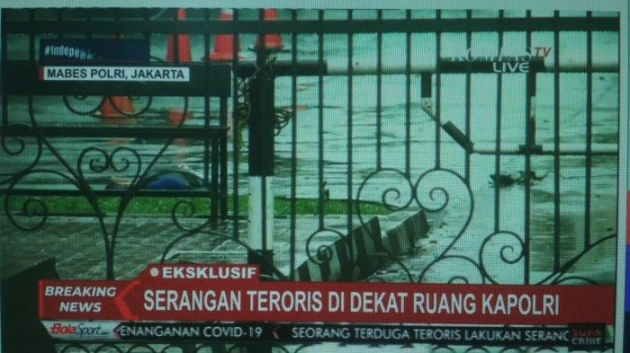 Tim Gegana Potong Tas Milik Terduga Teroris Lalu Beri Acungan Jempol, Bawa Peledak?