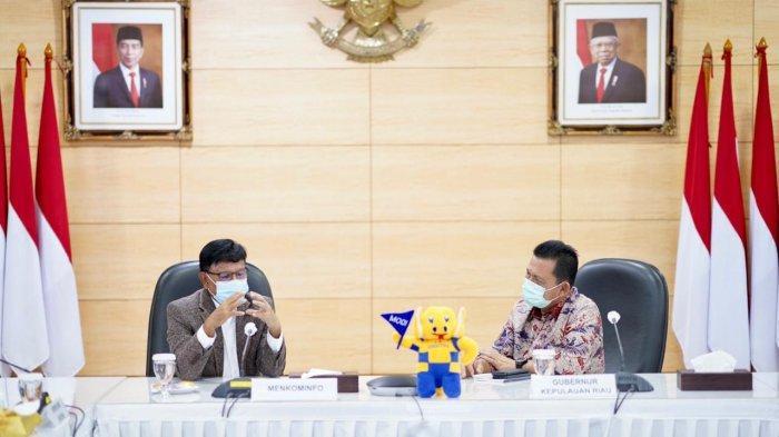 Ansar Ahmad Lobi Menkominfo, Perkuat Infrastruktur Jaringan Telekomunikasi di Kepri